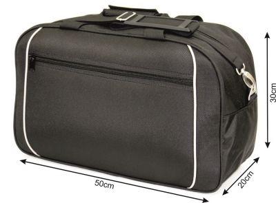 c58fc08832d35 Torba podróżna 30L wz 223 na bagaż podręczny czarno beżowa ...