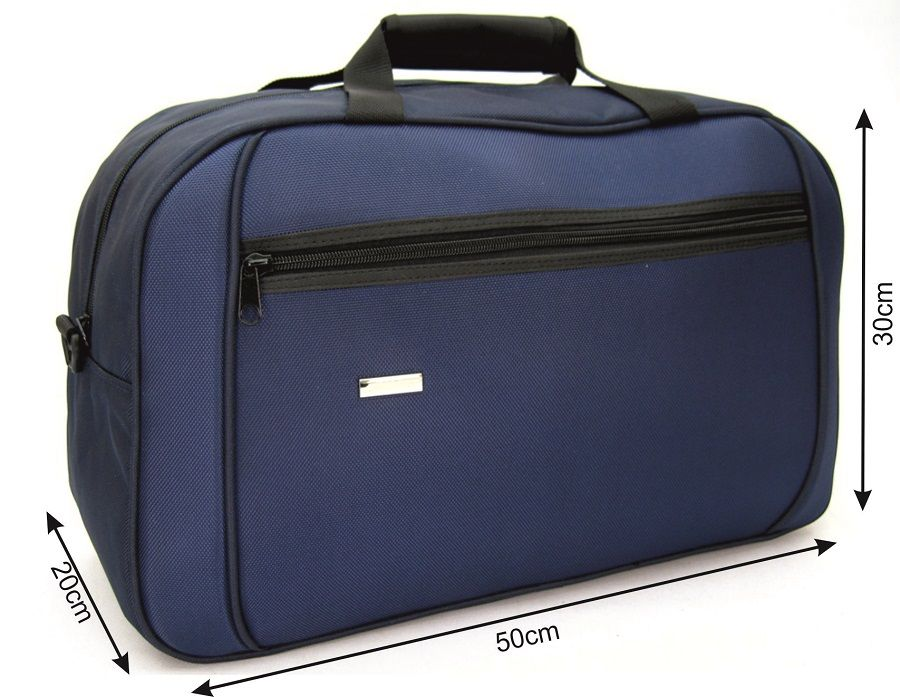 dbf4eb457a820 Torba podróżna 30L wz 223 na bagaż podręczny granatowa